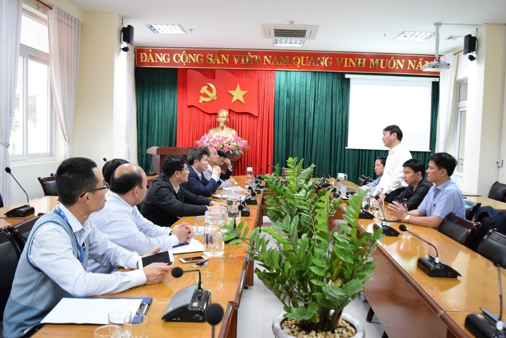 Đoàn công tác của Nhà trường đến thăm và làm việc với Đại học Tây Nguyên