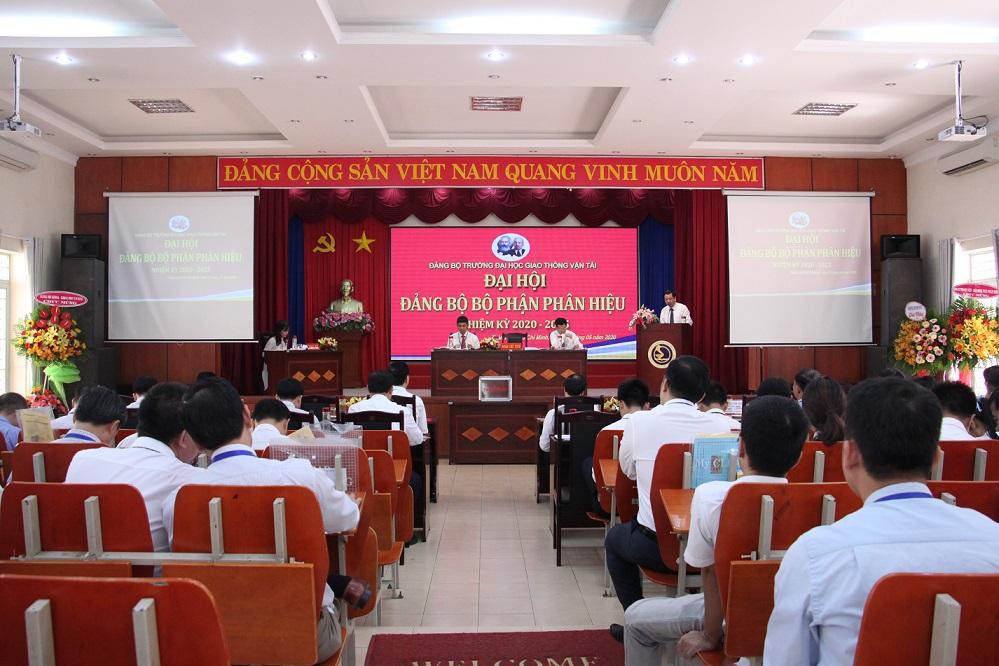 Đại hội Đảng bộ Bộ phận Phân hiệu nhiệm kỳ 2020 – 2025
