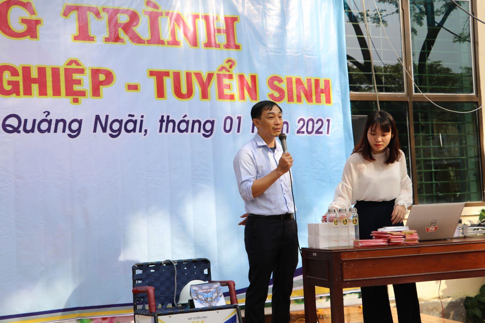 Th.S Huỳnh Văn Quân giới thiệu về các chương trình đào tạo của Trường năm 2021